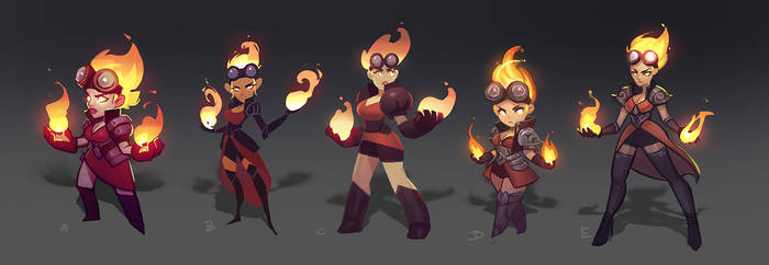 Chandra Style Explorations by ARTazi