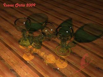 copas vidrio verde by ik9889