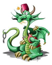 ottoman dragon by nedesem