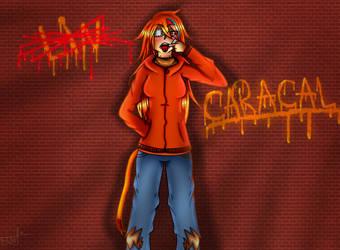 Lin-Caracal by rainbowangeliccomics