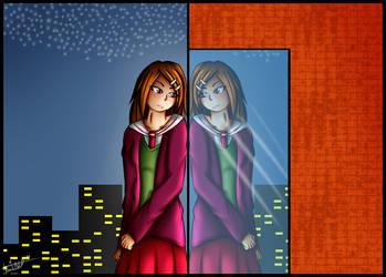 AT-Itsuriha Yami by rainbowangeliccomics