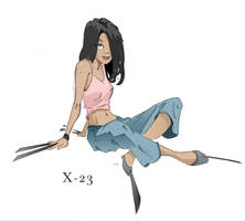 Lil Miss X23 by justincurrie