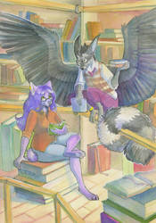 Library by HaSKA-LoWo