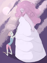 Pearl and Rose by HaSKA-LoWo