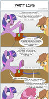 Party Line (ATG7 - Day 20) by HalflingPony