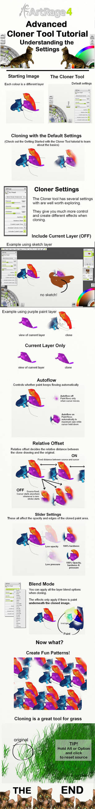 The Cloner Tool Settings in ArtRage 4 by ArtRageTeam