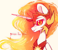 praise the sun by MirtaSH