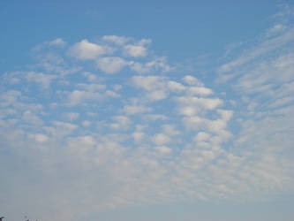 white clouds by keyfer