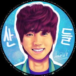 Sandeul by singinferyoo