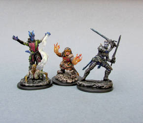 Batch #5 of Random DnD Character Minis by tinselizzi