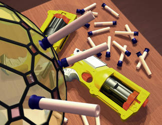 Nerf Gun Project 2 by tamnguyenk