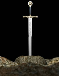A Sword Called Excalibur by tamnguyenk