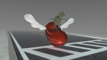 Flight Turtle by tamnguyenk