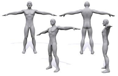 Human Male Model by tamnguyenk