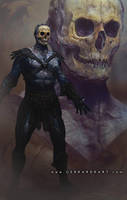 SKELETOR : POSTER VERSION by Sallow