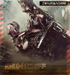 CD COVER ART  : ZWAREMACHINE EP by Sallow