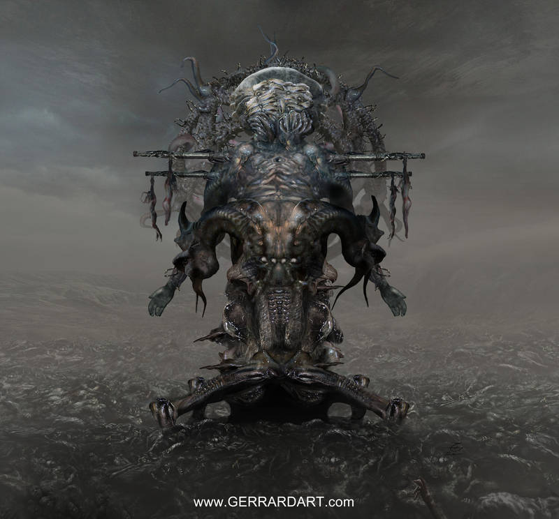 CD COVER ART : Construct of Lethe by Sallow