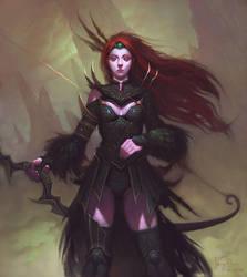 Dark Archer by fluxen