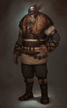 Civilization V Denmark Leader by fluxen
