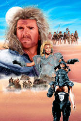 Mad Max Beyond Thunderdome alternative fan poster by MAJIS76