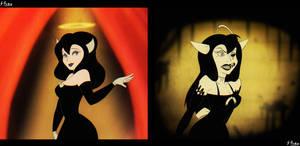 Alice Angel (Don Bluth's Style) by Shinju-Fury