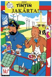Tintin in Jakarta by Zeikai