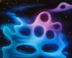 The Amoeba Nebula by NathanHolly