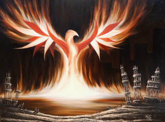 Phoenix Rising by NathanHolly