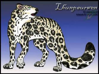 Lhunpaurwen for Leopardwolf by layra
