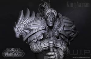 King Varian Vrynn - Stormwind -  Warcraft by GastonBR