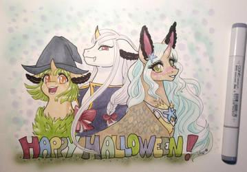 Happy Halloween from Wildlings by Aurialudzic