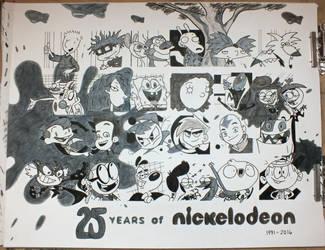 25 Years of Nicktoons (Design 08) by Nicktoon-Grl