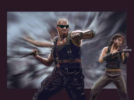 Riddick and Kira by DmSexyRed