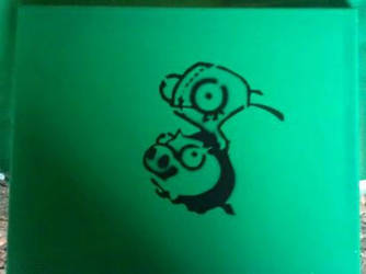 Gir Riding A Pig by TheCanvasCreations