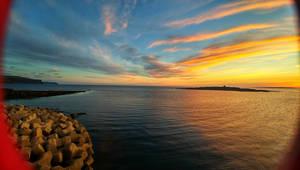 sunset Doolin by FaerieFaith