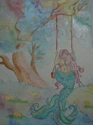 curvy mermaid by FaerieFaith