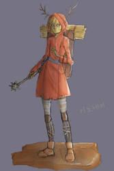 Character #1: Adventurer by kinonei