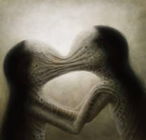 kiss by vuzel
