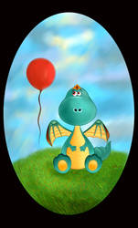 The Balloon Dragon by DaniellyDan1