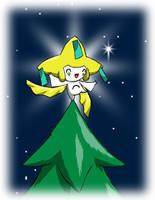Pokemon Christmas scene no. 6 by mew-at-heart