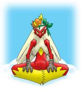 Pokemon Christmas scene no. 11 by mew-at-heart