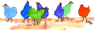 Chickens by macbeth3377