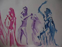 Belly Dancer Study by macbeth3377