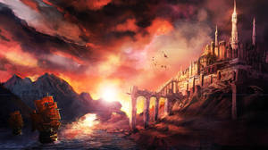 matte painting 001 by chuyDeleon