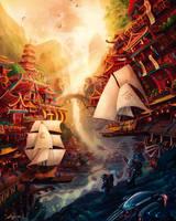 viajeros en zhentian by chuyDeleon