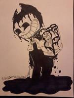 Bendy The Ink Master by WardenDarkwingArtist