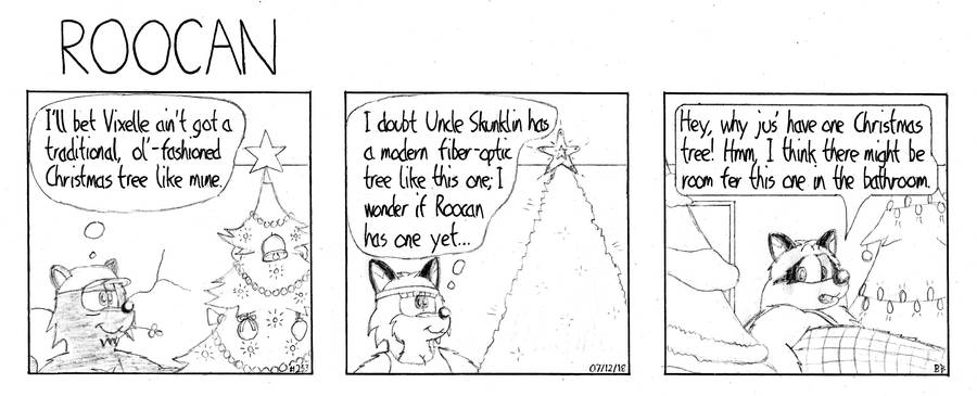 Roocan Strip 253 by BruBadger