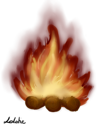 Fire by Lolotie