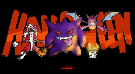 Happy Halloween Pokemon ! by Lolotie