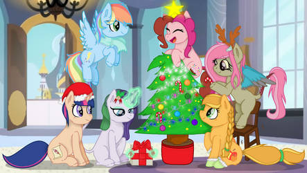 Christmas Tree by PrincessSweetShy